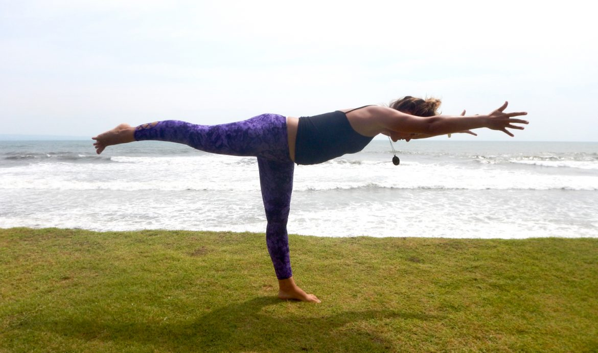 warrior 3 yoga for surfers