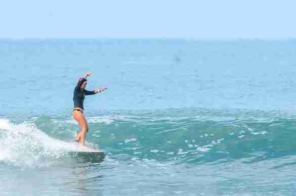 first surfboard
