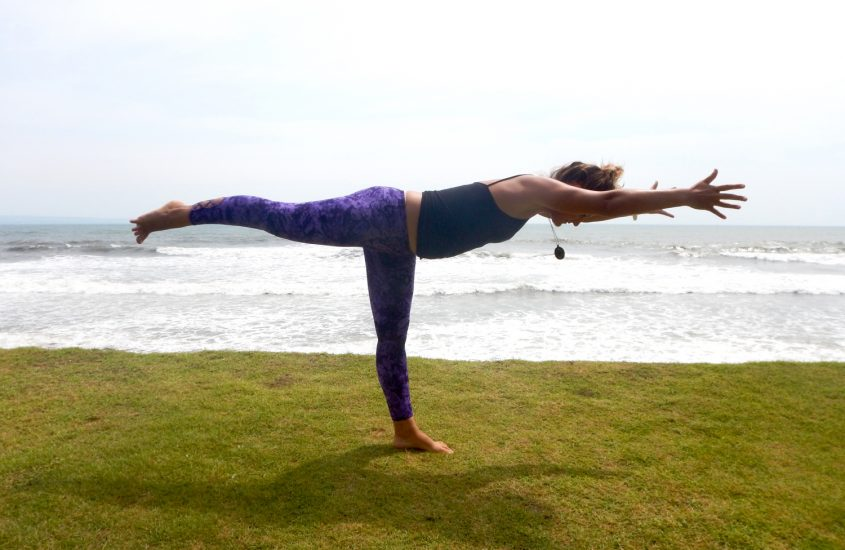 yoga for surfers warrior 3